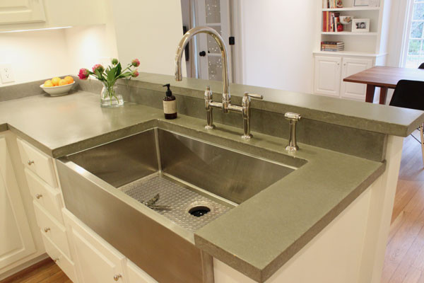 cement kitchen countertops concrete kitchen countertops home decor and interior design 803