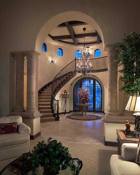Foyer Luxury Opening Hours : Judson estate mediterranean hall phoenix by calvis