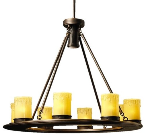 Oak Trail Outdoor Chandelier - traditional - outdoor lighting - by ...