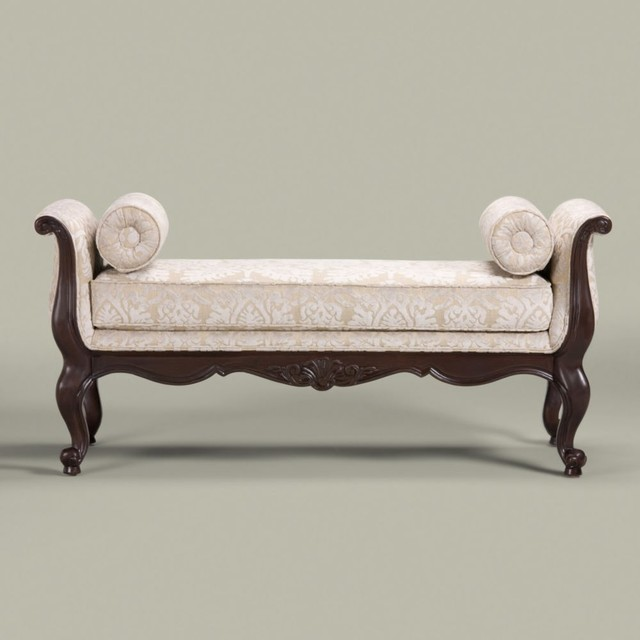 belfiore bench - traditional - bedroom benches - by Ethan Allen