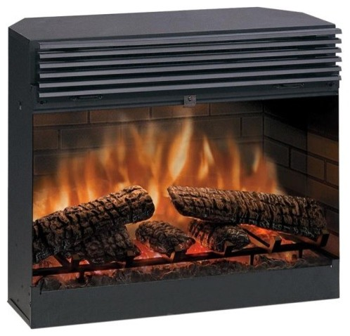 Dimplex Electric Fireplace Insert Contemporary Indoor Fireplaces By Hayneedle