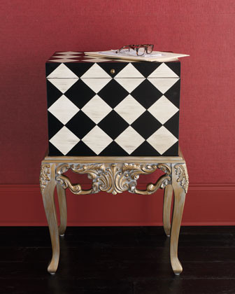 Checkered File Box - Traditional - Filing Cabinets - by Horchow