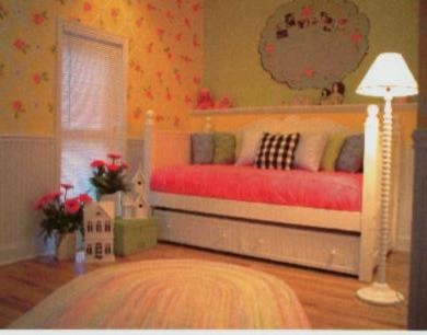 Color And Pattern Set The Stage For This Girl 39 S Bedroom