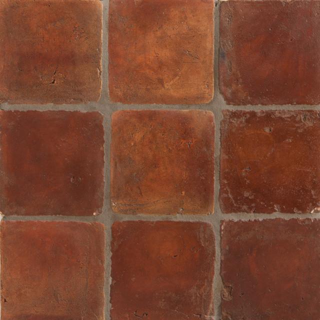 Spanish terracotta tile for Mediterranean flooring