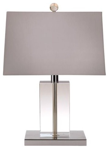 Payton Square Lucite Table Lamp Lauren Contemporary Table Lamps By Lumens