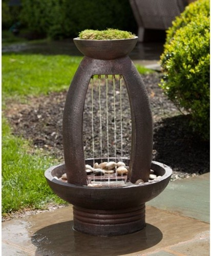 Contemporary Backyard Fountains : All Products  Outdoor  Garden Decor  Outdoor Fountains
