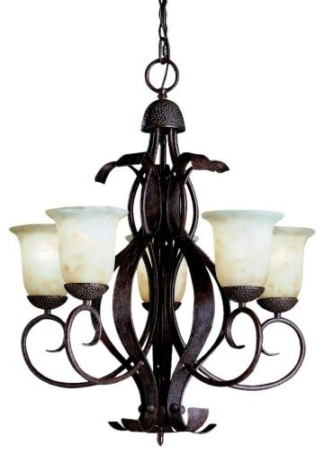High Country Outdoor Chandelier - traditional - outdoor lighting ...