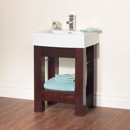 Sink consoles and vanities room ornament for Bathroom console