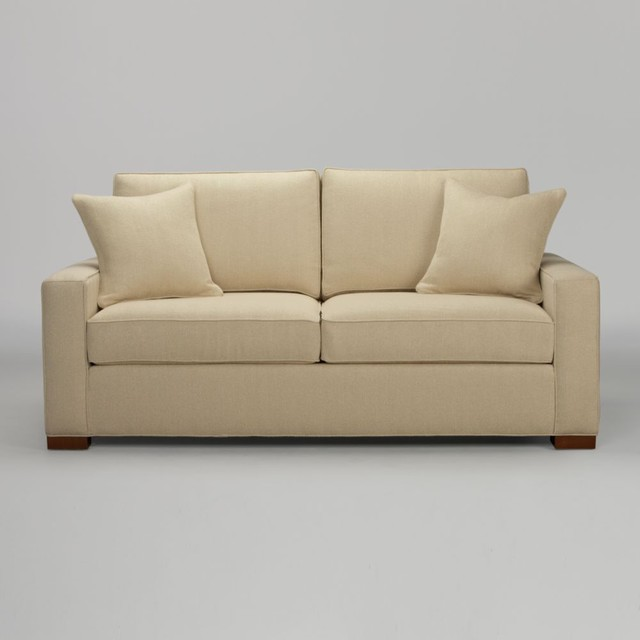 Hudson sofa 74 traditional sofas by ethan allen for Sofa bed 74 inches